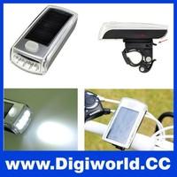 4 LED Bicycle Lamp Super Front Lights Solar LED Bike Headlight