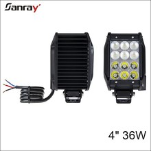 4rows 36w high power led lightbar manufacturer for Jeep/Suv/ATV
