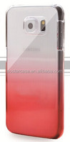 New stylish 100% fit to the phone perfectly pc case with gradients for samsung S6 edge