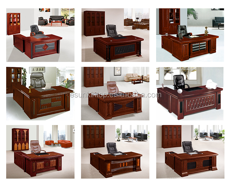Professional Office Furniture Half Round European Style Semi Circle Executive