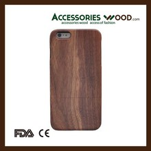 Handmade Natural Wood Wooden Hard bamboo cell Case Cover for Phone