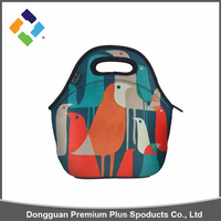 Professional production wholesale lunch box thermal bag tote,insulated neoprene lunch bag