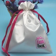New Satin Bag, Wholesale Satin Shoe Bag, Custom Drawstring Satin Gift Bag