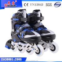 GX-1507 buckle ramp heel glider street glider flashing roller skate
