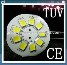 g4 led halogen replacement with 9pcs 2835 led side pin 10-30v dc for marine and auto led application