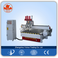 good quality three-process woodworking Cnc Router for sale wood cnc router