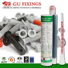 345ml chemical cartridge anchorage glue for roofing system