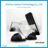 2015 Design New Technology Nano Suction Cup Aluminum Phone Holder
