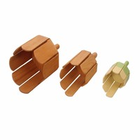 High quality mini product kids favourite music instrument wooden multi tone block