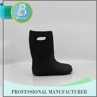 2015 Top quality Environmental black hot tall women sex girls with animal rain boots