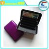 custom printing RFID Stainless Steel Wallet Credit Card Holder