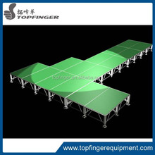 Very cheap ! Aluminum modular concert stage sale,event stage , stage decoration themes non-slip portable stage for sale