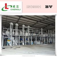 compelte line dry peeling and degerming technology corn flour making machine