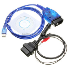 3 Pin OBD VAG 409 KKL USB+Fiat Ecu Scan Diagnostic Interface For Fiat