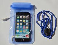Zippers plastic waterproof ocean phone bags with earphone hot selling