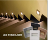 Plastic led step light with great price