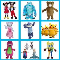 Happy Island CE Hot selling used minion,pukachu mascot costumes for sale