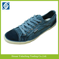 Fashion cheap high quality cavas shoes for man