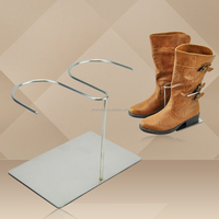 Metal Shoe Display Rack Boot Stand Shoe Display Riser Stand