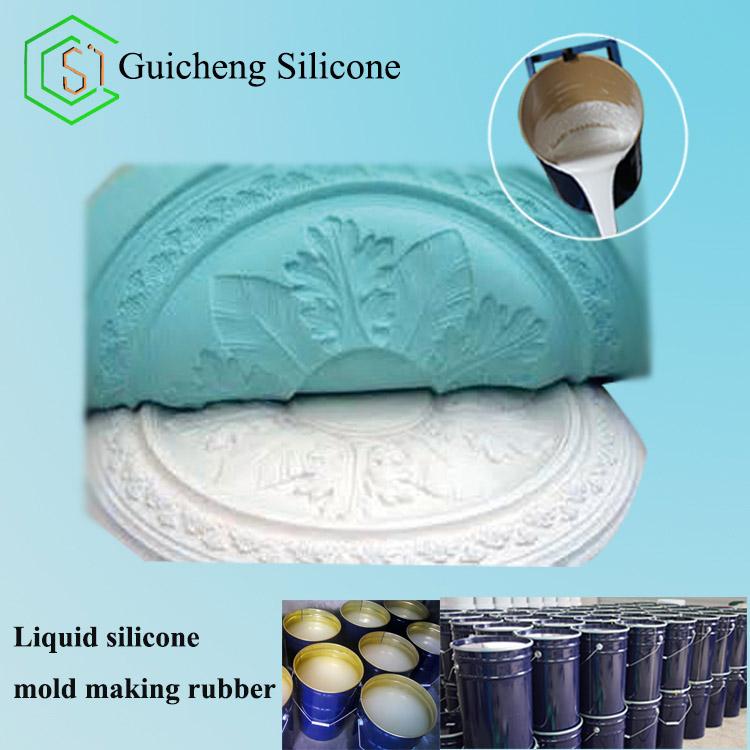 Translucent Liquid Silicone For Plaster Figurines Mold