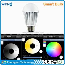 Wifi camera security light wifi led bulb 6w e27 light,china factory