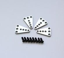 Axial SCX10 #SCX43 Aluminum Upper Shock Mount Lift Kit 4pcs (Honcho & Dingo) 1/10 RC Car Shock Up Down Lifting Plate