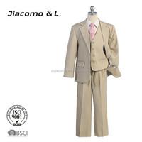 2015 Latest design slim fit suits for boys