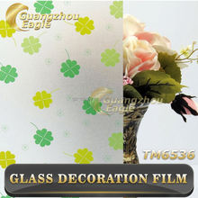 High Quality Window Cling Film Self Adhesive Transparent Window Film Size 0.9*50 Meter
