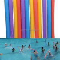 NEW Swimming Water Sports Pool Noodle Hollow Inside Kids Adults Exercise Aids Float Therapy Exercise Soft Foam Bar beach toy