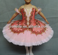 2014 novo!!! Mb0840-6 bailarina rosa filho panqueca de fadas ballet saia tutu