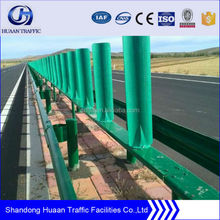 powder coating type guardrail for highway/ roadside/resort/garden/parking barrier used