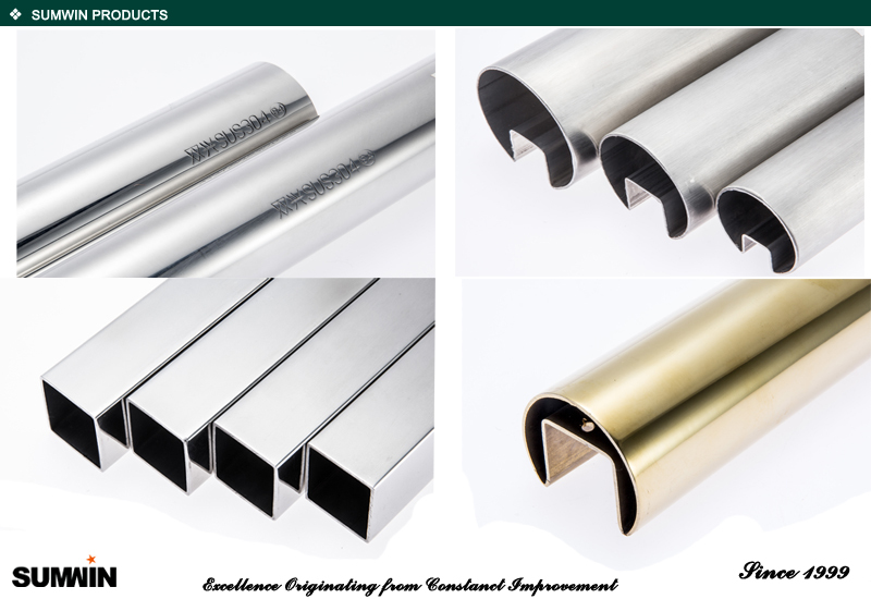 China supplier 316 201 304 Stainless steel tube 4 inch