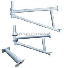 Construction Galvanized steel Ring lock system Scaffolding on sale