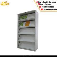 Modular Metal Bookcase Book Magazine Shelf /magazine rack wrought iron For Student