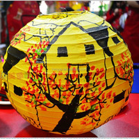 personality Chinese fire retardant paper lantern for home decoration