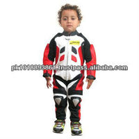 Motorbike Motorcycle Leather Suit for Kids Biker Suit