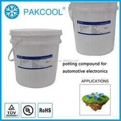 1:1 silicon rubber encapsulate encapsulant for Electronic laser