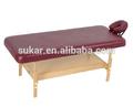 2014 china feita de madeira mesa de massagem estacionária n dobrado