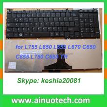 Brazil laptop keyboard for L755 L650 L655 L670 C650 C655 L750 C660 BR laptop keyboard IT SP LA AR GR UK US PO JA BR GR FR