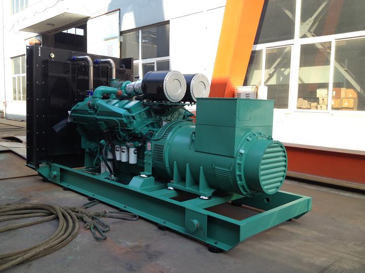 Пятно поставка дизель мощность 1000 ква генератор с дизельным двигателем KTA38-G5