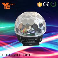 RoHS Certified Stage Light Maker Crystal Ball Spinning Disco Light Ball
