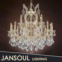 modern hand blown pendant glass cloche chandelier light for luxury party decorations