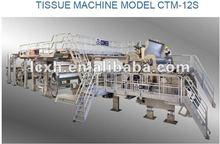 Most Advanced 2850/900m/min Crescent Former Tissue Paper-making Machine--Toilet Paper/Napkin Paper Machine
