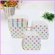 custom design Square muffin paper cupcake /baking cup