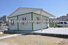 ISO container house with double pitch roof