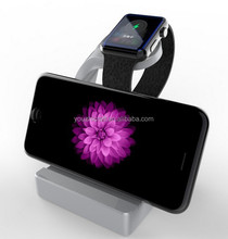 Hot selling stand for apple watch aluminum , 2 in 1 stand for Apple Watch