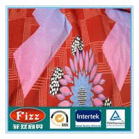 wholesale african real wax sanhe quality wax printing fabric