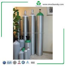 EN DOT Industrial Gas High Pressure Seamless Aluminum Cylinder