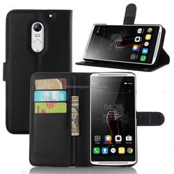 Magnetic Flip Book Holder Leather Case For Lenovo Vibe X3