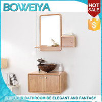 Made In China Modern European Bathroom Cabinet With Mirror